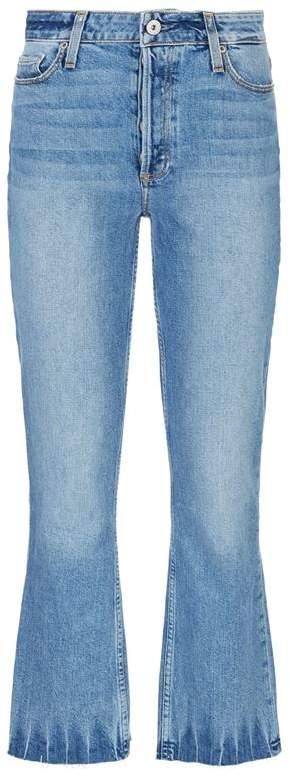 Denim Colette Cropped Flare Jeans