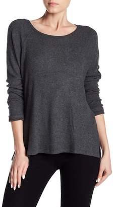 Velvet by Graham & Spencer Zurie Rib Knit Raglan Sleeve Shirt