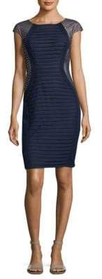Jax Pleated Sheath Dress