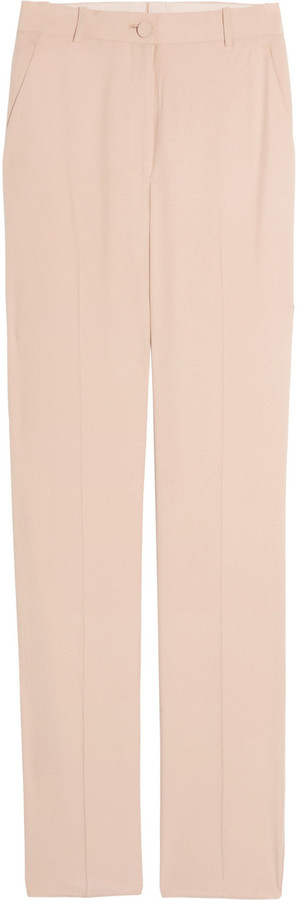 The Row Williams tailored silk-twill pants