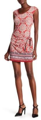 Max Studio Sleeveless Tie-Waist Jersey Dress