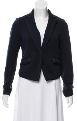 Rag & Bone Merino Wool Knit Blazer