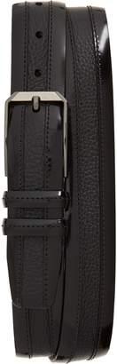 Mezlan Leather & Deerskin Belt