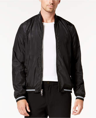 Michael Kors Men's Perforated Bomber Jacket