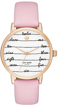 Ballet slipper chalkboard metro watch $195 thestylecure.com