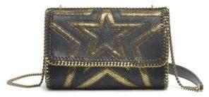 Stella McCartney Shaggy Gradient Faux Leather Shoulder Bag