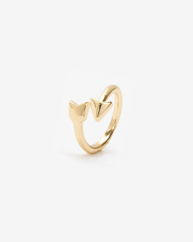 Lisa Freede Arrow Ring: Yellow Gold