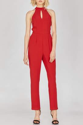 Adelyn Rae Shaylie Scallop Jumpsuit