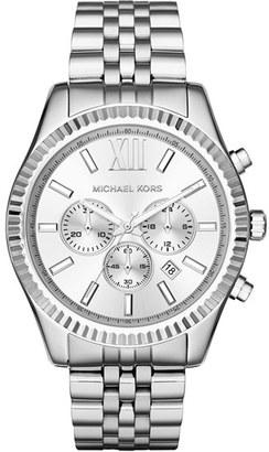 Men's Michael Kors 'Lexington' Chronograph Bracelet Watch, 44Mm $275 thestylecure.com