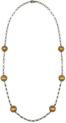 Wild Lilies Jewelry Antique Bronze Necklace