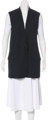 Rag & Bone Wool Notch-Lapel Vest