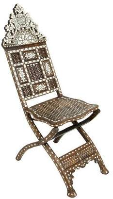 Levantine-Style Folding Chair