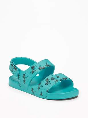 Old Navy Palm-Tree Print Sandals for Toddler Boys