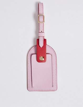 Marks and Spencer Leather Luggage Tag