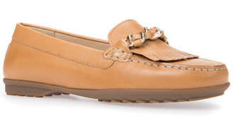 Geox Elidia Leather Moccasin