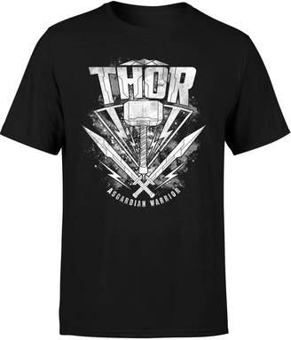 Marvel Thor Ragnarok Thor Hammer Logo Men's T-Shirt