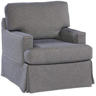 One Kings Lane Options Swivel Glider Chair - Indigo