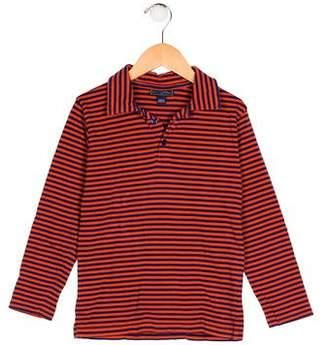 Oscar de la Renta Boys' Stripe Collared Shirt