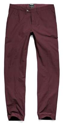 Todd Snyder Hudson Tab Front Chino Pant in Maroon