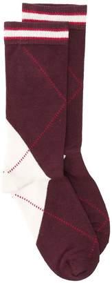 MAISON KITSUNÉ argyle socks