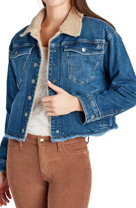 Sam Edelman Bella Fleece Lined Denim Jacket