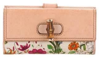 Gucci Flora Bamboo Wallet