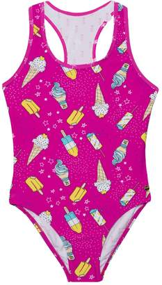 Juicy Couture Ice Cream Love One Piece Swimsuit for Girls