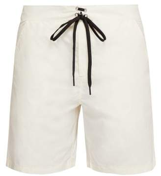 Solid & Striped The Longboard Swim Shorts - Mens - White