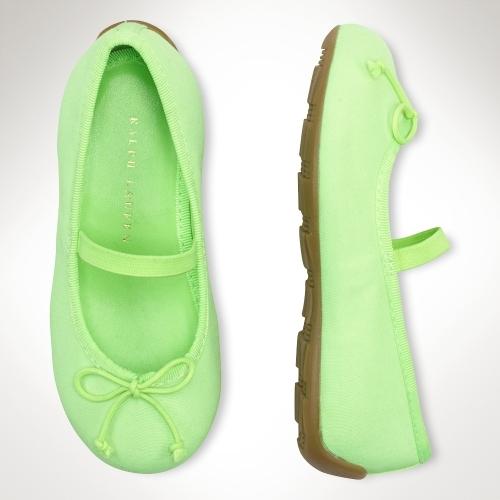 Ralph Lauren Allie Ballet Flat