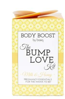 Motherhood Maternity Body Boost by Basq The Bump Love Kit- Milk & Honey