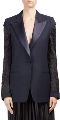 Roberto Cavalli Women's Wool Button-Front Blazer