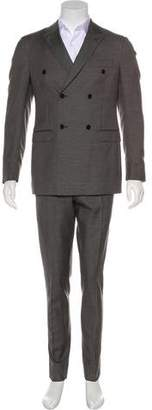 Valentino Mohair-Blend Suit