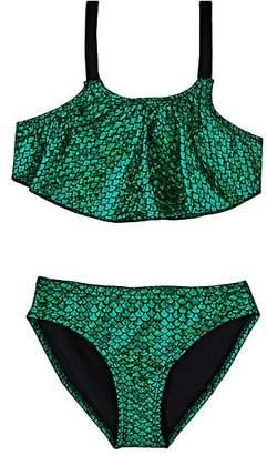 Hampton Mermaid Tank Bikini - Green