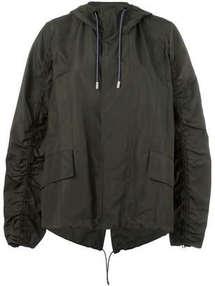 Marni oversized drawstring sleeve jacket
