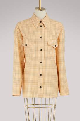 Victoria Beckham Patch pocket shirt