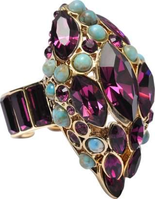 Roberto Cavalli Snake Stones ring