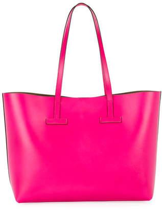 Tom Ford Small T Saffiano Tote Bag