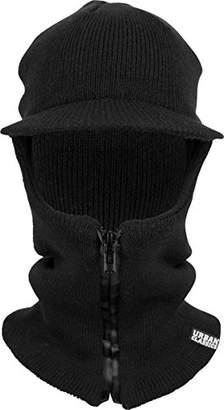 Urban Classic Zipped Balaclava Visor (Black 7), one Size