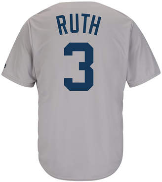 Reebok Majestic Men Babe Ruth New York Yankees Cooperstown Replica Jersey