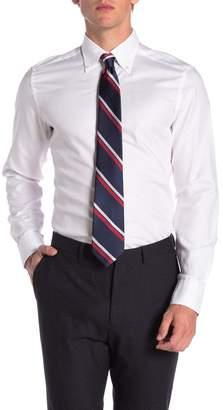 Ermenegildo Zegna Solid Trim Fit Dress Shirt