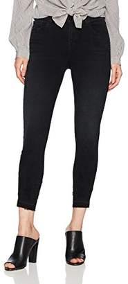 J Brand Jeans Women's 835 Mid Rise Crop Skinny with Release Hem