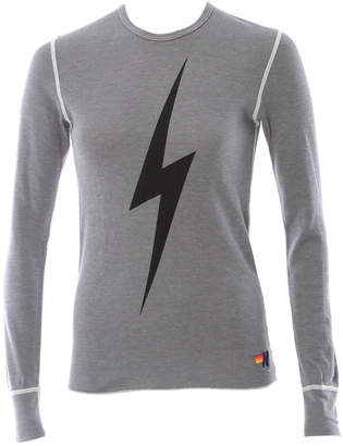 Aviator Nation Bolt Thermal Long Sleeve Tee
