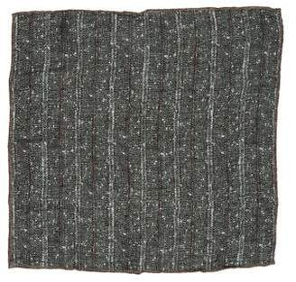 Brunello Cucinelli Linen Patterned Pocket Square w/ Tags