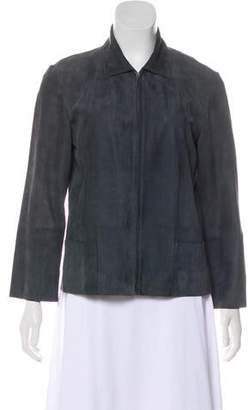 Louis Vuitton Leather Long Sleeve Jacket