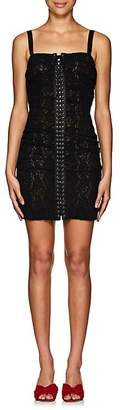 Dolce & Gabbana Women's Floral Lace Minidress