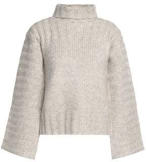 See by Chloe Ribbed-Knit Turtleneck Sweater