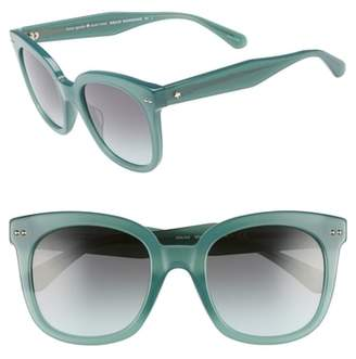 Kate Spade Atalias 52mm Square Sunglasses