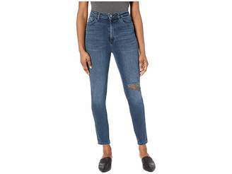 DL1961 Chrissy Ultra High-Rise Skinny in Saxton