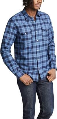 Woolrich Melange Check Flannel Shirt