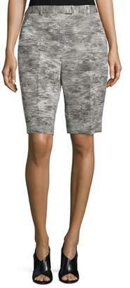 Jason Wu Mid-Rise Bermuda Shorts, Charcoal $875 thestylecure.com
